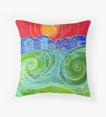 Village Green Throw Pillow