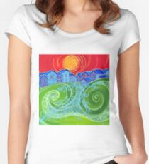 Village Green Women's Fitted Scoop T-Shirt