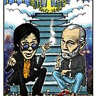 Bill Hicks and George Carlin by Rick Chesshire