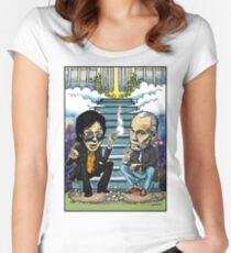 Bill Hicks and George Carlin Women's Fitted Scoop T-Shirt