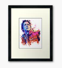 Mc Fly Framed Print