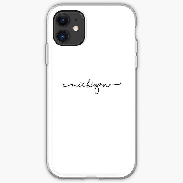 Michigan iPhone Soft Case