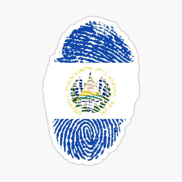 Identidad El Salvador Pegatina