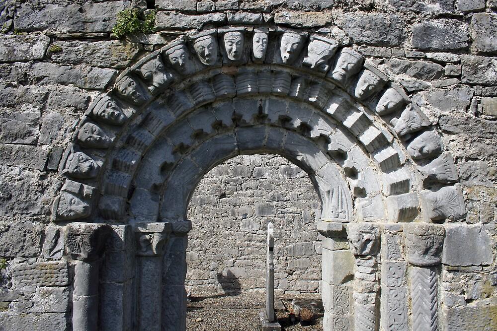 Dysert o Dea church arch by John Quinn