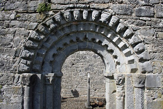 Dysert o Dea church arch by John Quinn