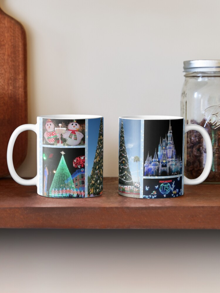 Alternate view of Christmas at your Happy Place! Mug