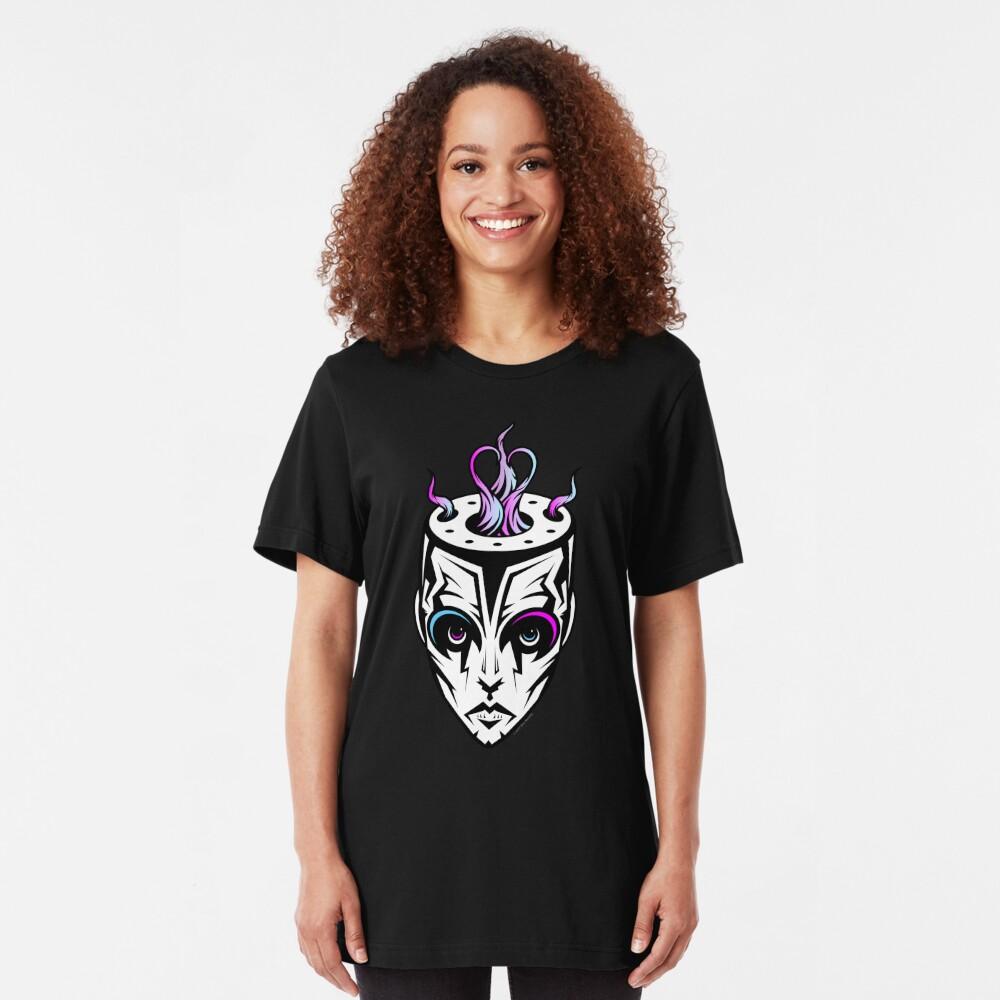 Burn - synthwave remix Slim Fit T-Shirt