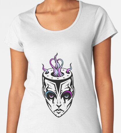 Burn - synthwave remix Women's Premium T-Shirt