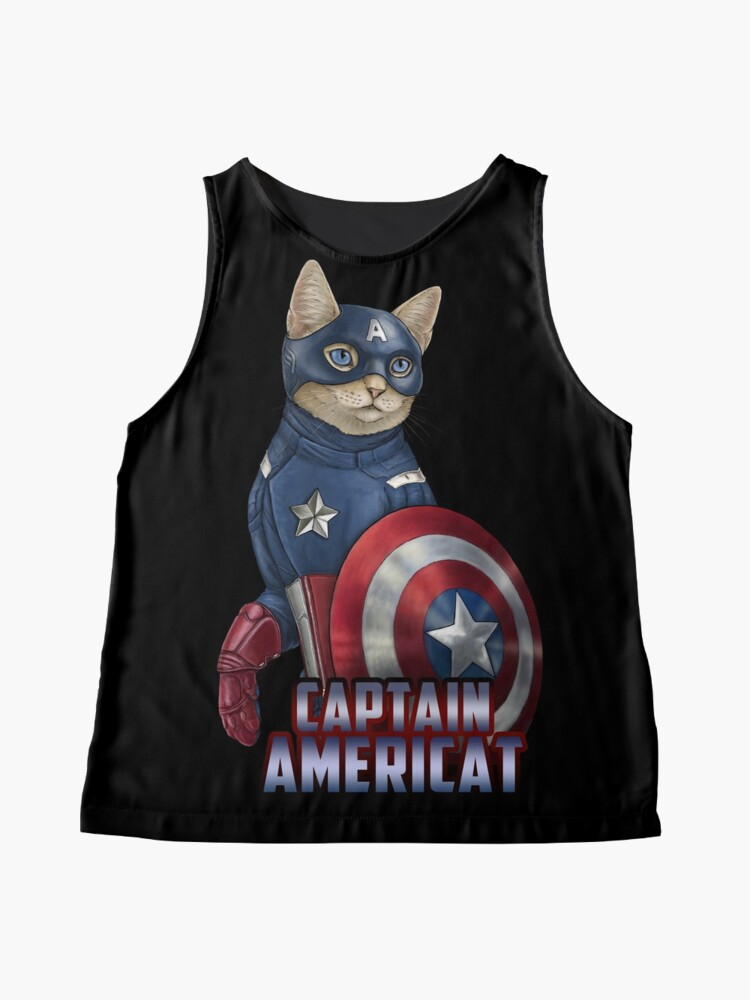 Alternate view of Captain Americat Sleeveless Top