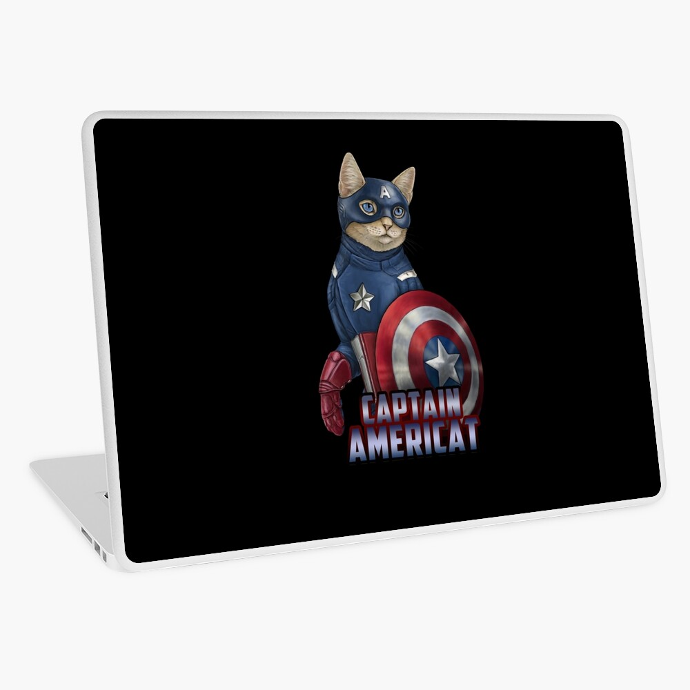 Captain Americat Laptop Skin