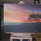 Aireys Inlet Victoria Australia by Ken Tregoning