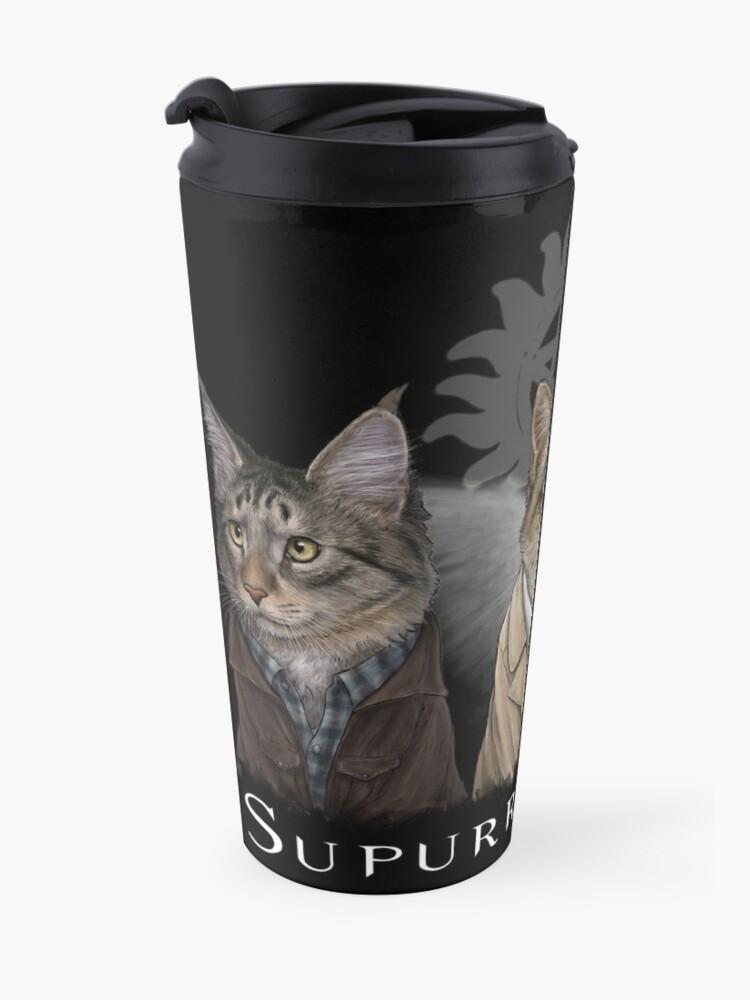 Alternate view of Supurrnatural Travel Mug