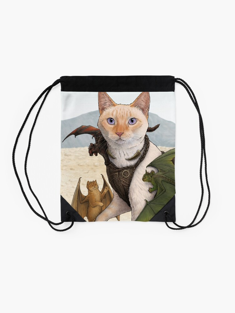 Alternate view of Catleesi Drawstring Bag