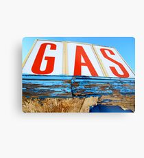 GAS! Metal Print