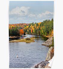 Muskoka River 2 Poster