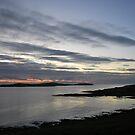 sunrise over mousa by NordicBlackbird