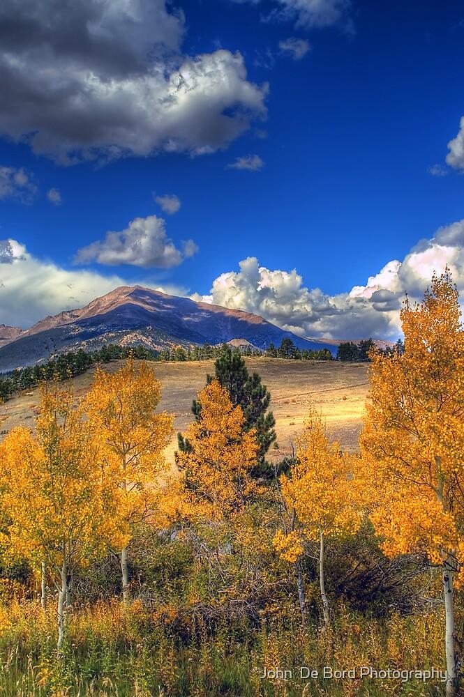 Autumn Along Mt Meeker by John  De Bord Photography