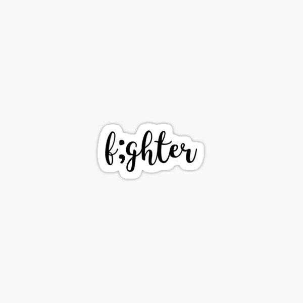 Fighter Sticker