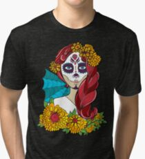 Day of the Dead Tri-blend T-Shirt