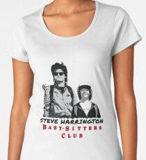 Steve Harrington - Babysitters Club Women's Premium T-Shirt