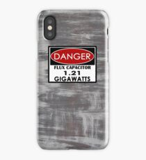 Flux Capacitor - 1.21 Gigawatts Warning iPhone Case