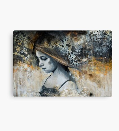 i search the silence Canvas Print