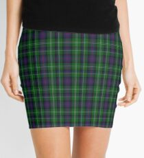 00072 Sutherland Clan/Family Tartan  Mini Skirt