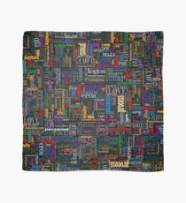 Jungian Psychology Word Cloud Scarf