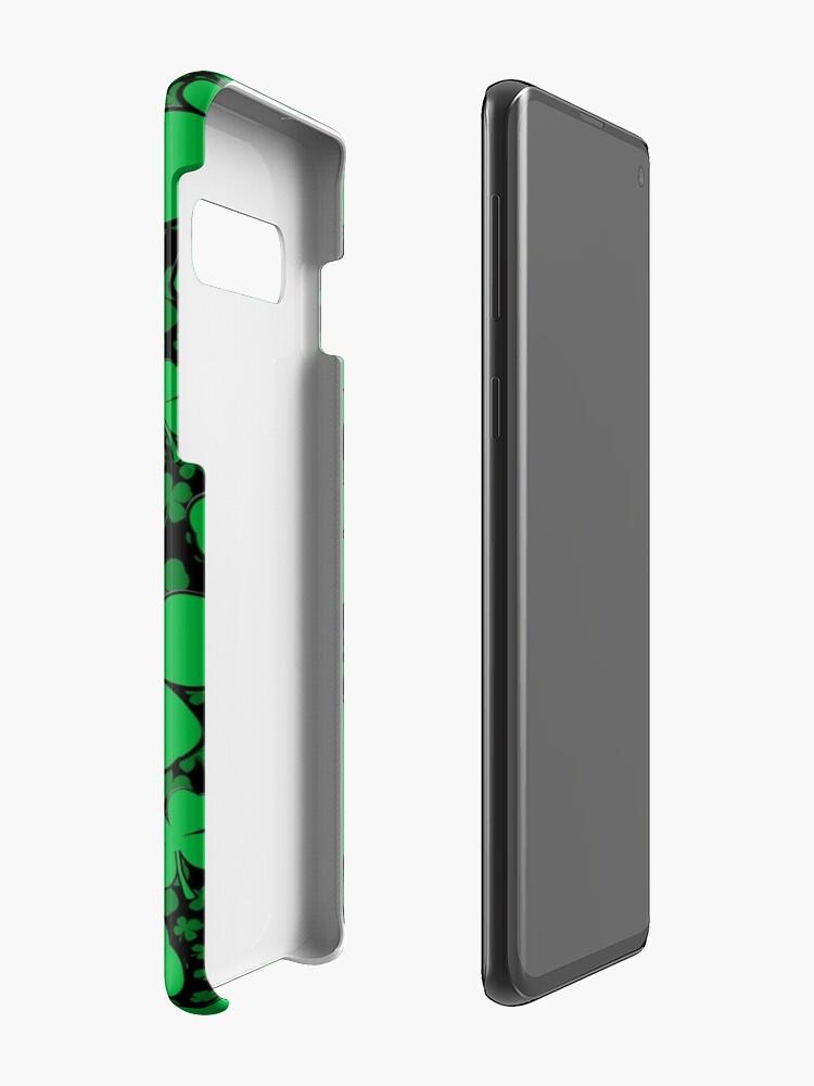 Alternative Ansicht von Ein Shamrock-Feld für St Patrick Tag Hüllen & Klebefolien für Samsung Galaxy