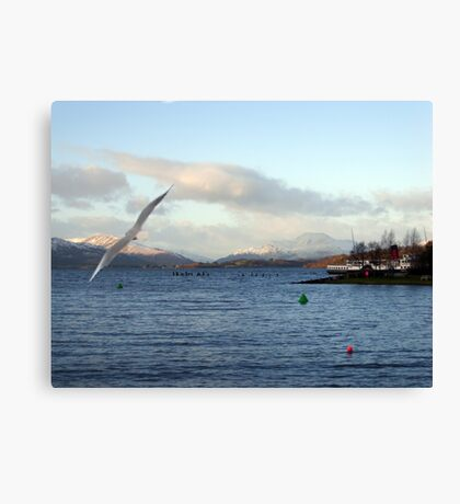 Looking North on Windermere Canvas Print