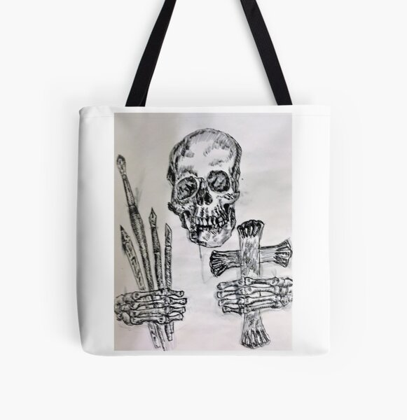 Art-To Death Do Us Apart All Over Print Tote Bag