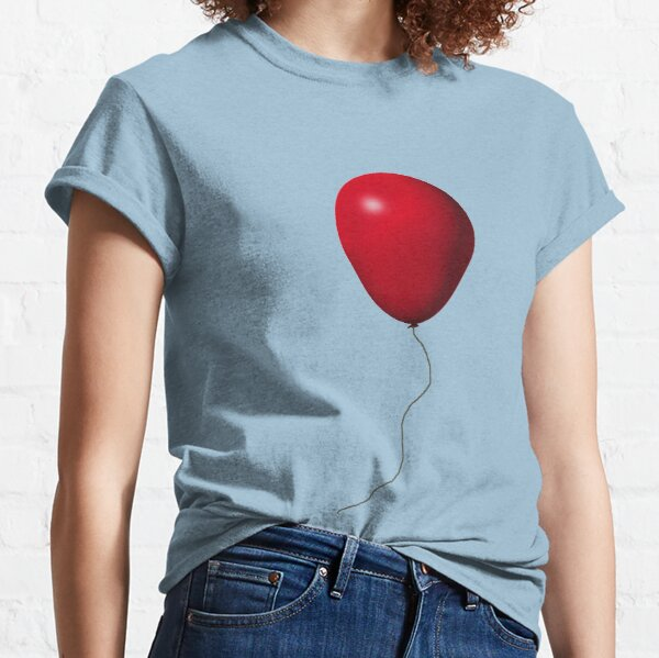 Red IT Balloon Classic T-Shirt
