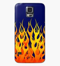 Racing Flames Case/Skin for Samsung Galaxy