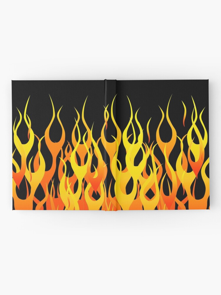 Alternate view of Racing Flames Hardcover Journal