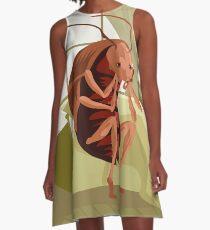 kafka metamorphosis cockroach A-Line Dress