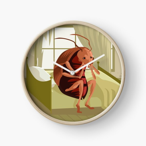 kafka metamorphosis cockroach Clock