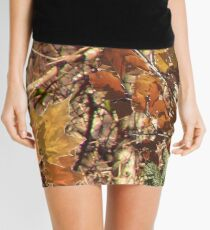Fall Hunter's Camo Mini Skirt
