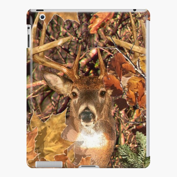 White Tail Buck in Fall Camo iPad Snap Case