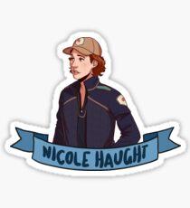 haught Sticker