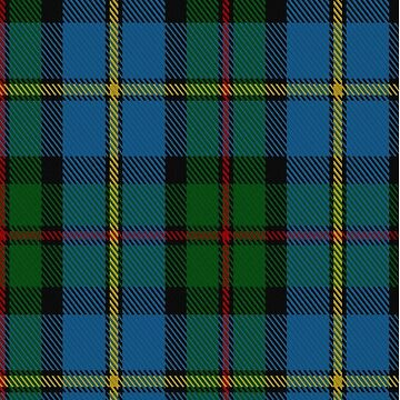 00066 Green Macleod Clan/ Family Tartan  by Detnecs2013