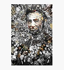 "Title: ""Rendering Myself Worthy"" Abe Lincoln, Slavery, Civil War Meta Collage Photographic Print"
