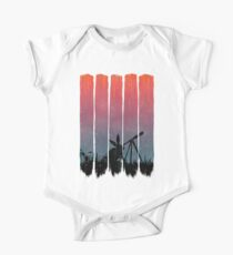 Meteor Shower - Brush Strokes  Kids Clothes