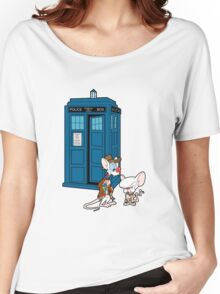 Gee Doctor What Are We Going To Do Tonight? (classic) Women's Relaxed Fit T-Shirt