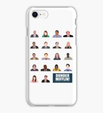Dunder Mifflin Rolecall! iPhone Case/Skin