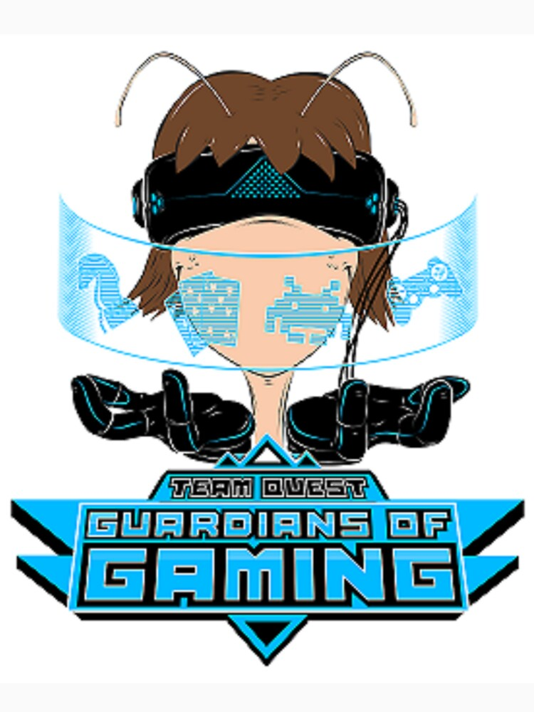 Team Quest T-Shirt - Guardians of Gaming by glaufer