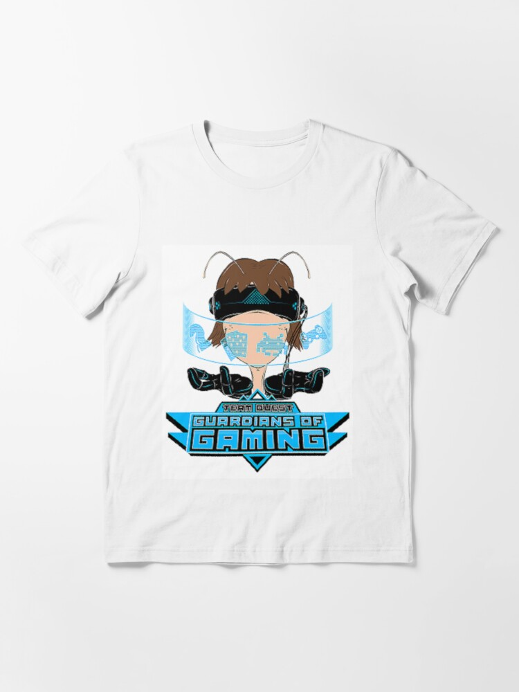 Alternate view of Team Quest T-Shirt - Guardians of Gaming Essential T-Shirt