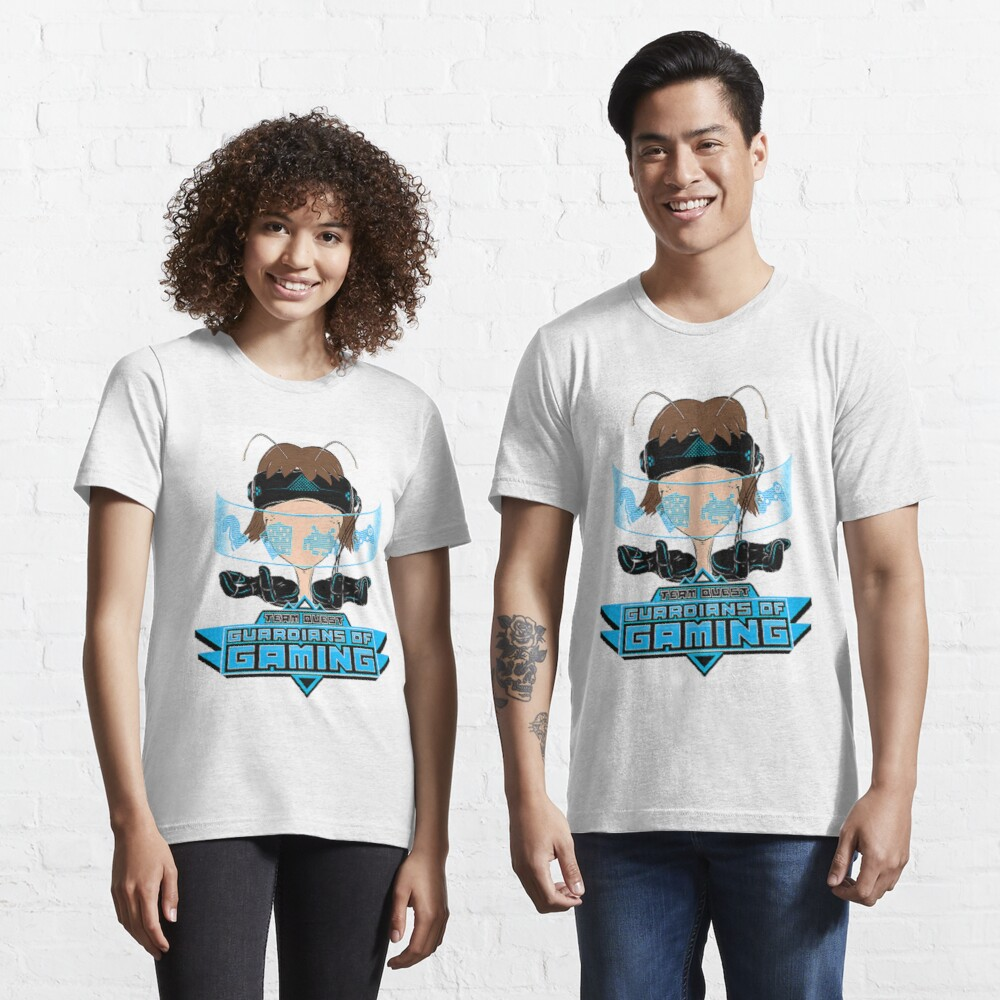 Team Quest T-Shirt - Guardians of Gaming Essential T-Shirt