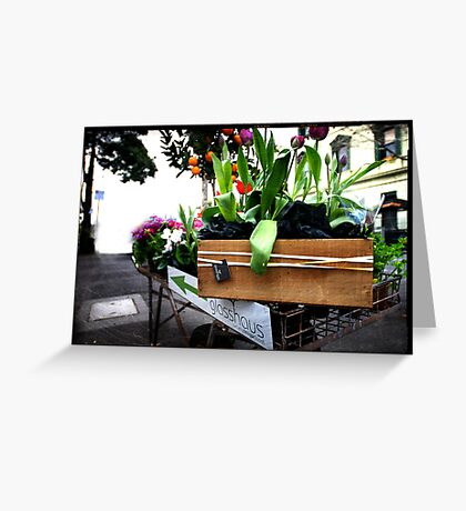 Street nursery Greeting Card