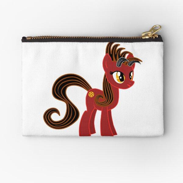 Devil Pony Zipper Pouch