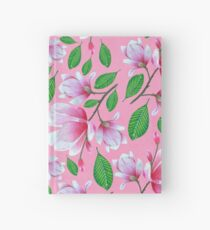 Pink Magnolia Hardcover Journal